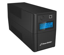 Zasilacz awaryjny (UPS) Power Walker LINE-INTERACTIVE (850VA/480W, 2x IEC, LCD, AVR)
