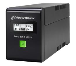 Zasilacz awaryjny (UPS) Power Walker LINE-INTERACTIVE (600VA/360W, 3x IEC, LCD, AVR)