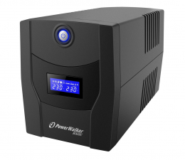 Zasilacz awaryjny (UPS) Power Walker LINE-INTERACTIVE (1500VA/900W, 4x PL, LCD, AVR)