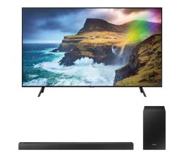 """Telewizor 56"""" i większy Samsung QE65Q70RA + soundbar HW-R450"""