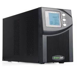 Zasilacz awaryjny (UPS) Green Cell UPS (1000VA/900W, 3x IEC, LCD)
