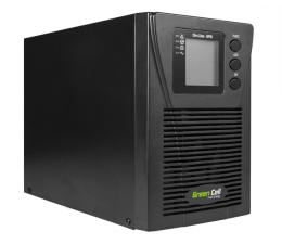Zasilacz awaryjny (UPS) Green Cell UPS (1000VA/900W, 2x Schuko, LCD)