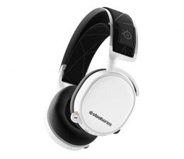 Słuchawki bezprzewodowe SteelSeries Arctis 7 Białe - Bezprzewodowe