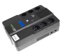 Zasilacz awaryjny (UPS) Green Cell UPS AiO (600VA/360W, 6x Schuko, AVR, LCD)