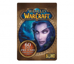 Gra na PC PC World of Warcraft 60-day time card ESD Battle.net
