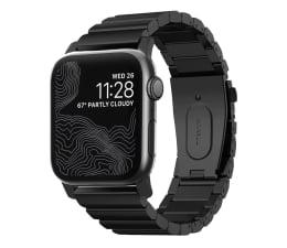 Pasek / bransoletka Nomad Bransoleta Tytanowa do Apple Watch czarny