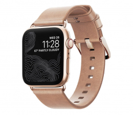 Pasek / bransoletka Nomad Pasek Skórzany do Apple Watch 38/40mm Gold
