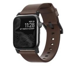 Pasek / bransoletka Nomad Pasek Skórzany do Apple Watch brązowo-czarny