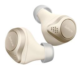 Słuchawki bezprzewodowe Jabra Elite 75t złoto - beżowe