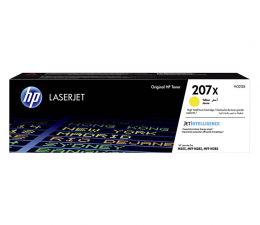 Toner do drukarki HP 207X yellow 2450str.