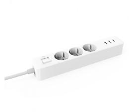 Listwa zasilająca Xiaomi Mi Power Strip - 3 gniazda, 3x USB, 1.4m