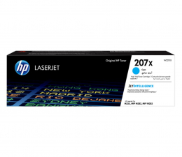 Toner do drukarki HP 207X cyan 2450str.