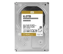 Dysk HDD WD GOLD 6TB 7200obr. 128MB