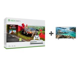 Konsola Xbox Microsoft Xbox One S + Forza Horizon 4 + LEGO DLC + TV