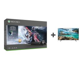 Konsola Xbox Microsoft Xbox One X + STAR WARS: Upadły Zakon + TV