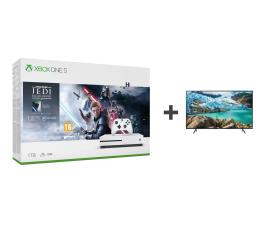 Konsola Xbox Microsoft Xbox One S + STAR WARS: Upadły Zakon + TV