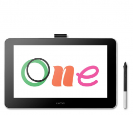 Tablet graficzny Wacom One Display 13' + Corel DRAW Essential 2020