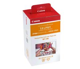 Papier do drukarki Canon RP-108 108 szt 10x15cm (papier+folia barwiąca)
