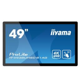 """Monitor LED 32"""" i większy iiyama TF4938UHSC-B1AG dotykowy open frame"""