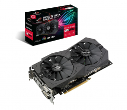 Karta graficzna AMD ASUS Radeon RX 570 STRIX OC 8GB GDDR5