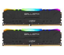 Pamięć RAM DDR4 Crucial 16GB (2x8GB) 3600MHz CL16 Ballistix Black RGB