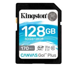 Karta pamięci SD Kingston 128GB Canvas Go! Plus 170MB/90MB (odczyt/zapis)