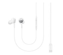 Słuchawki przewodowe Samsung AKG Type-C białe