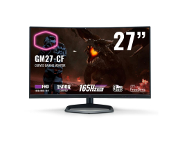 "Monitor LED 27"" Cooler Master GM27-CF Curved"