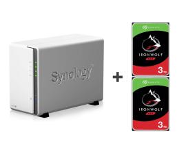 Dysk sieciowy NAS / macierz Synology DS218j 6TB (2xHDD, 2x1.3GHz, 512MB,2xUSB,1xLAN)