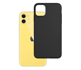 Etui / obudowa na smartfona 3mk Matt Case do iPhone 11 czarny