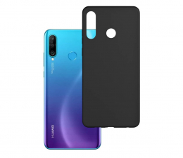 Etui / obudowa na smartfona 3mk Matt Case do Huawei P30 Lite czarny