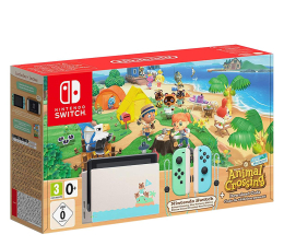 Konsola Nintendo Nintendo NINTENDO Switch: Animal Crossing Edition