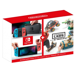 Konsola Nintendo Nintendo Switch Joy-Con R/Blue + Nintendo Labo Vehicle kit