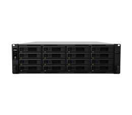 Dysk sieciowy NAS / macierz Synology RS2818RP+ (16xHDD, 4x2.1GHz, 4GB, 2xUSB, 4xLAN)