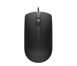 Myszka przewodowa Dell MS116 optyczna czarna USB