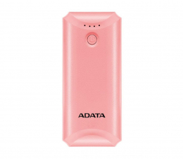 Powerbank ADATA Power Bank P5000 (5000 mAh, różowy)
