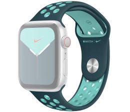 Pasek / bransoletka Apple Pasek Sportowy Nike do Apple Watch nocny turkus