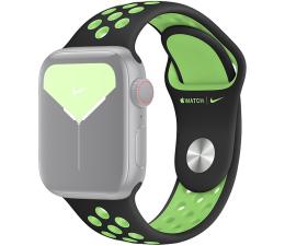 Pasek / bransoletka Apple Pasek Sportowy Nike do Apple Watch czarny/limetka
