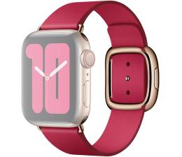Pasek / bransoletka Apple Pasek z Klamrą Nowoczesną do Apple Watch malinowy