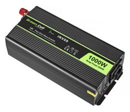 Przetwornica samochodowa Green Cell Przetwornica napięcia 12V na 230V 1000W/2000W