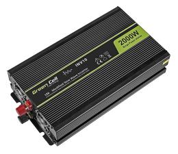 Przetwornica samochodowa Green Cell Przetwornica napięcia 12V na 230V 2000W/4000W