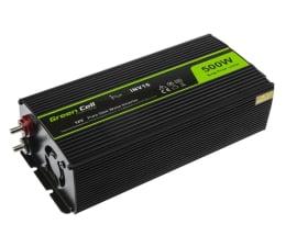 Przetwornica samochodowa Green Cell Przetwornica napięcia 12V na 230V 500W/1000W