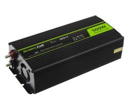 Przetwornica samochodowa Green Cell Przetwornica napięcia 24V na 230V 500W/1000W