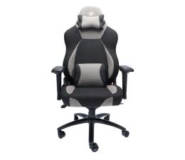 Fotel gamingowy Silver Monkey SMG-750 (Czarno-Szary) Materiał