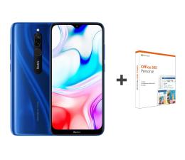 Smartfon / Telefon Xiaomi Redmi 8 3/32GB Sapphire Blue+Office 365