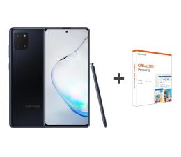 Smartfon / Telefon Samsung Galaxy Note 10 Lite Black + Office 365 Personal
