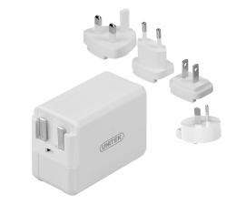 Ładowarka do smartfonów Unitek Adapter podróżny (QC 3.0, ES/UK/EU/AU)