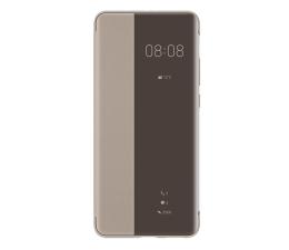 Etui / obudowa na smartfona Huawei Smart View Flip Cover do Huawei P40 Pro khaki
