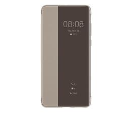Etui / obudowa na smartfona Huawei Smart View Flip Cover do Huawei P40 khaki