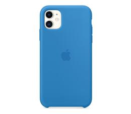 Etui / obudowa na smartfona Apple Silicone Case do iPhone 11 błękitna fala